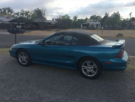 1994 mustang gt for sale 4th blue 1994 ford mustang gt 5 0 convertible for sale