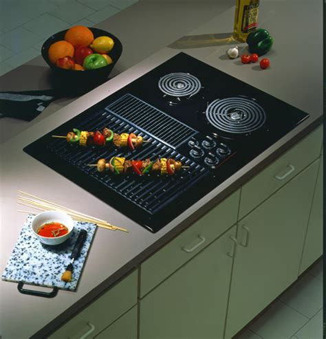 Ge Modular Cooktop Jp385bvbb Ge 174 30 Quot Select Top Modular Downdraft Cooktop