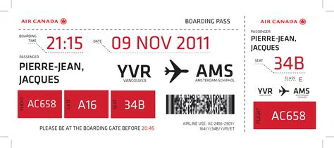 boarding pass canada airline boarding pass design emily carr university