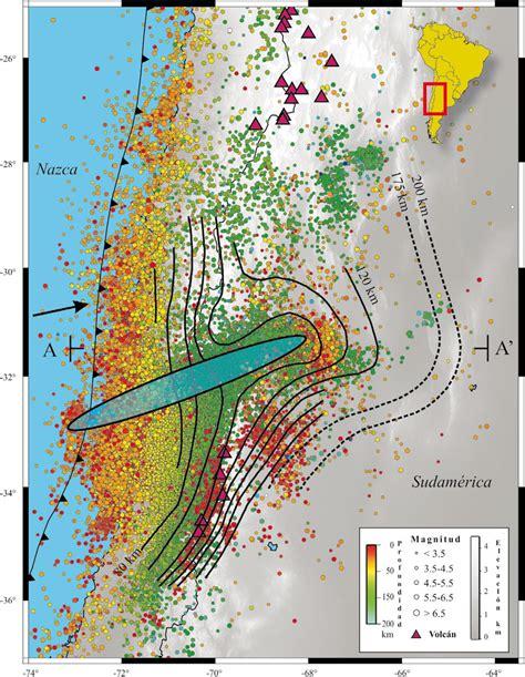 mapa de la sismicidad del neic usgs de los ultimos  anos