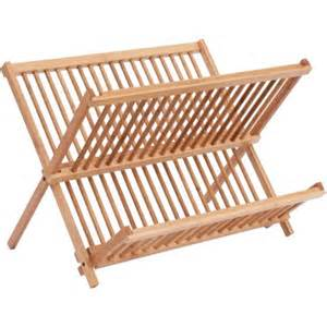 better homes and gardens folding bamboo dish rack