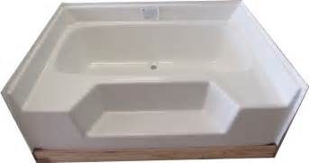 mobile home bathtub 54x42 fiberglass replacement garden tub