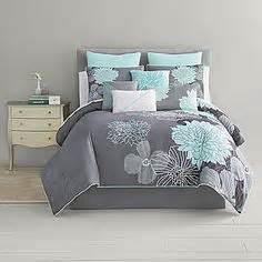 Comforter Sets King Marshalls Beautiful Modern Chic Blue Aqua Teal Grey Tropical