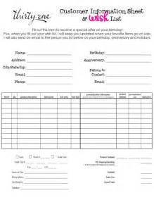 Thirty one order form template quotes