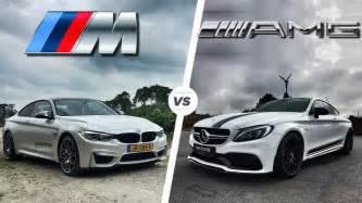bmw m4 2017 vs mercedes c63 amg coupe 2017 acceleration