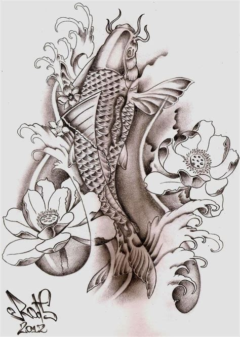two koi fish tattoo designs 30 koi fish designs with meanings