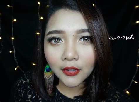 Wardah Lip Di Dandan tutorial make up kondangan iva s journey