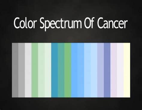 colors of cancer colors of the zodiac astrology color palettes abstar ology