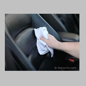 How To Clean Leather At Home by How To Clean Leather Car Seats At Home