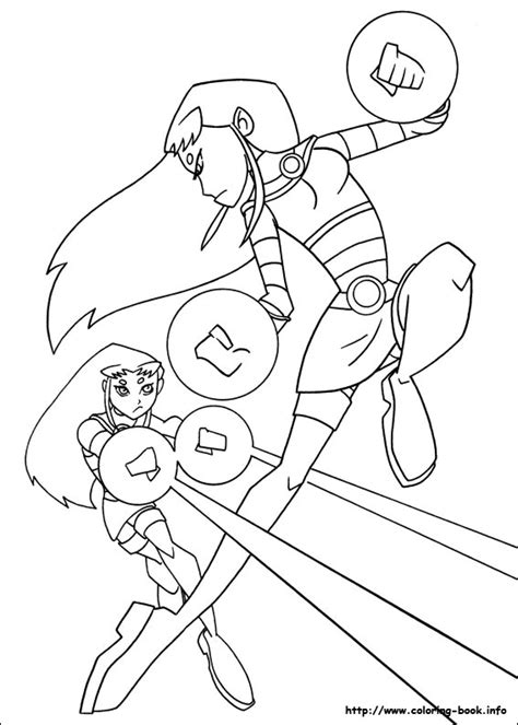 coloring page starfire teen titans coloring picture teen titans pinterest
