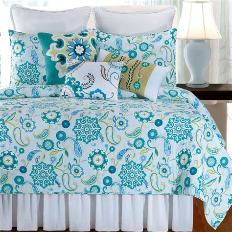paisley quilt bedding alena paisley medallion quilt bedding