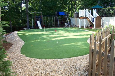 backyard putting greens neave sports