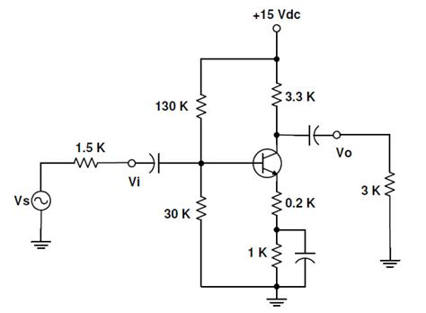 transistor lifier analysis biasing bjt approximate pcwong