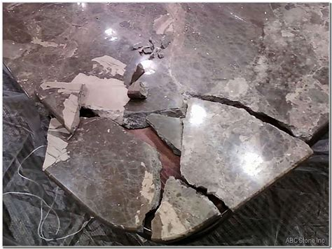 Cracked Marble Tabletop   Gallery