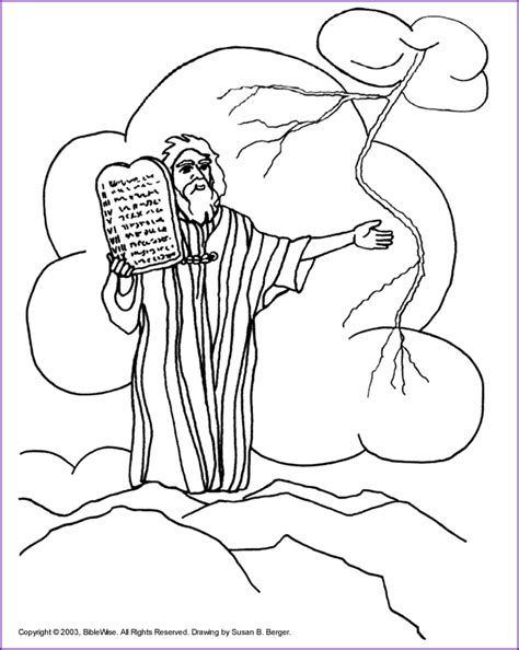 printable coloring pages ten commandments ten commandments coloring page coloring home