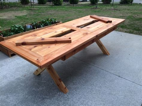 Patio Table With Built In Cooler For Sale by Builders Showcase Rustic Outdoor Table With Built In