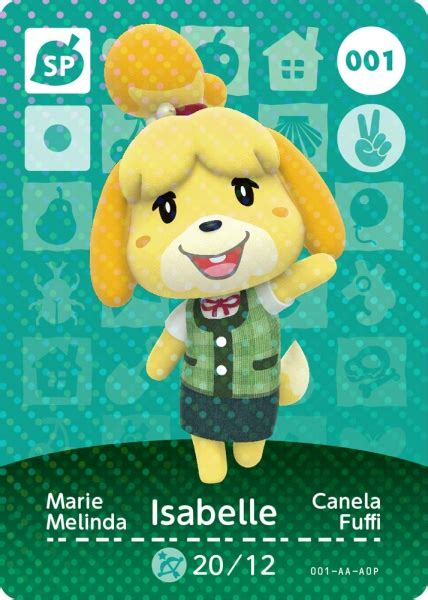 Kartu Amiibo animal crossing happy home designer card nintendo 3ds kuma cz
