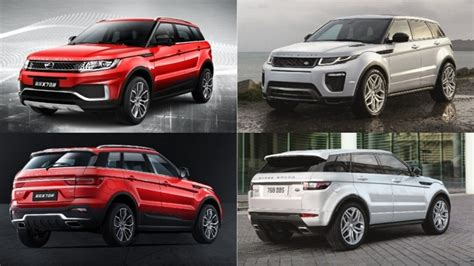 land wind vs land rover no longer a copycat range rover evoque s chinese