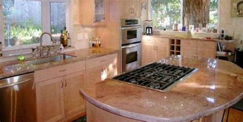 island kitchen and bath 17 best images about pink granite countertops on