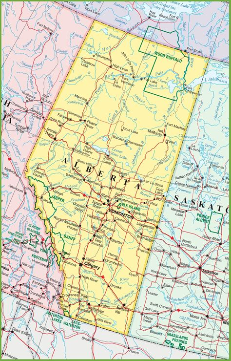 Lookup Alberta Map Of Alberta My