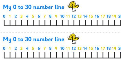 printable number line 1 30 8 best images of free printable number line 1 30 free
