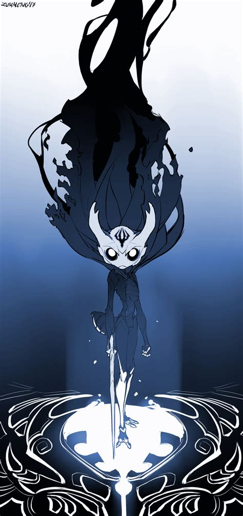 the hollow king hollow knight fanart by zummeng on