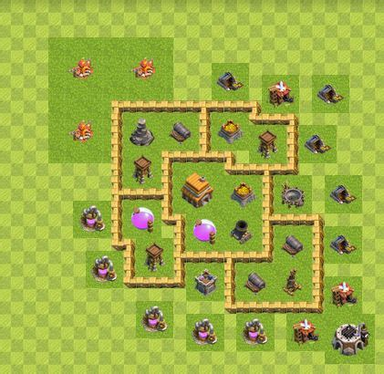coc auto layout best defense town hall level 7 base 2017 2018 best