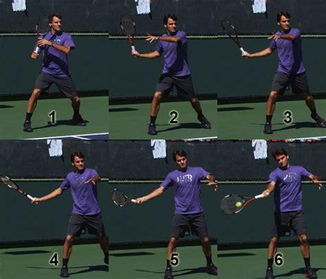 tennis forehand swing path pro swing hitting chipper jones hitting off of tee drill