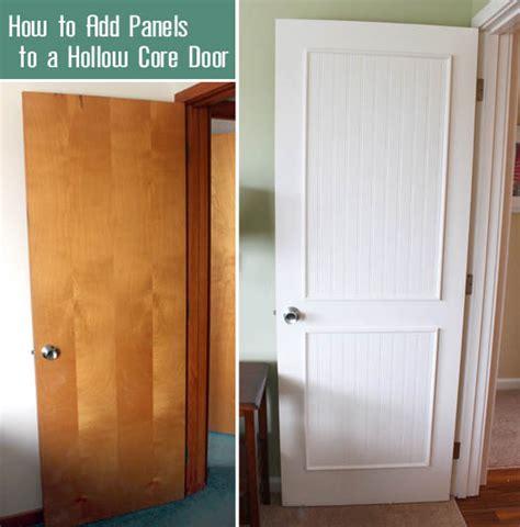 Shaker Beadboard Cabinet Doors - how to add molding panels to a flat door pretty handy
