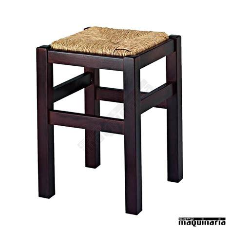 taburetes madera taburete bajo bar madera asiento enea 1r9e