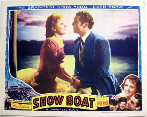 show boat 1936 quot show boat quot movie poster quot show boat quot movie poster