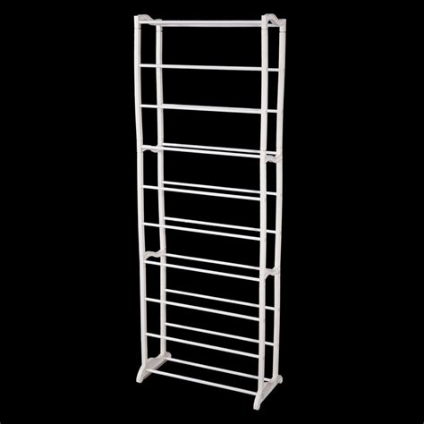 Shoe Rack Plastic by New 10 Tier 30 Pair Shoe Rack Storage Stand Organiser