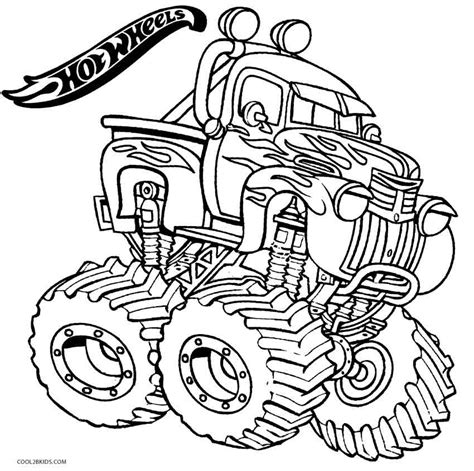 printable hot wheels coloring pages  kids coolbkids
