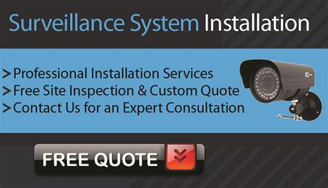 total armor security gt surveillance system installation in