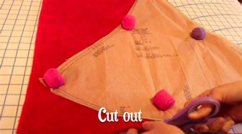 How To Make A Santa Hat Out Of Paper - make santa hat