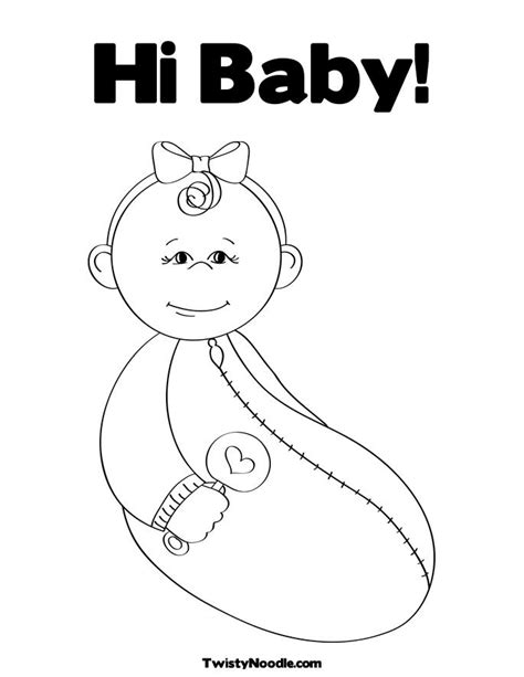 coloring page rattle rattle for baby coloring pages
