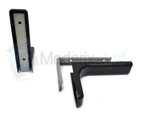 invisible concealed shelf support bracket with covers