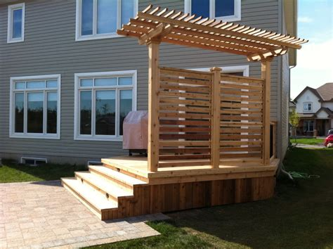 Patio Deck Total Deck Quality Wood Decks Deck Contracting Ottawa