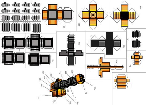 Papercraft Gun - 31 best papercraft images on papercraft