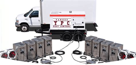 bed bug heat treatment equipment professional pest control exterminator services in ma