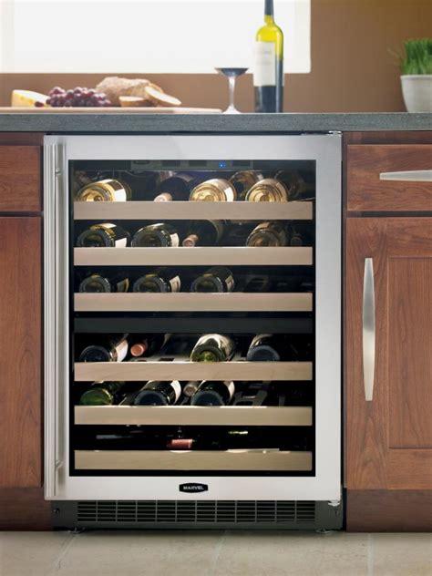 wine fridge hgtv