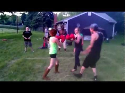 female backyard boxing girls backyard boxing youtube
