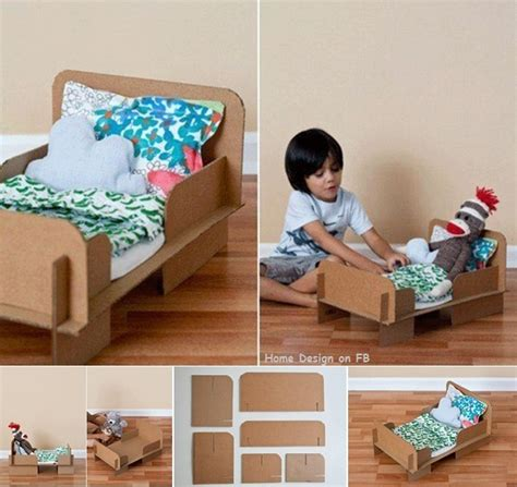 design a doll day bed diy cardboard bed for a doll or teddy bear home design