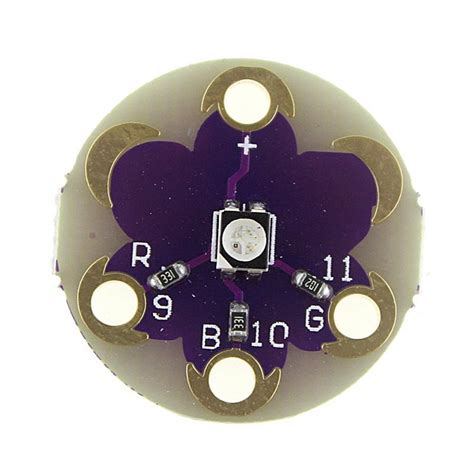 tri color led lilypad tri color led rgb module for arduino robu in