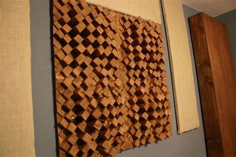 Diy Wood Sound Diffuser