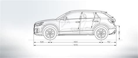 Audi Q2 Dimensions Dimensions Gt Audi Q2 Gt Q2 Gt Audi Belgique