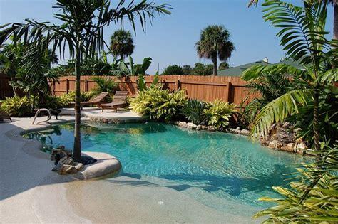 backyard beach pool how to make your own backyard beach