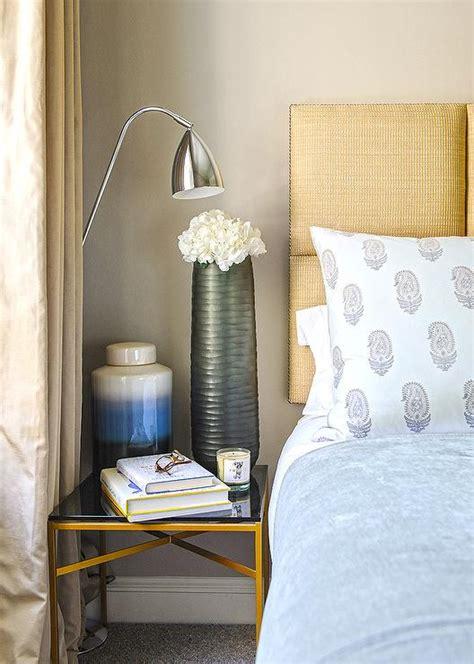 blue  gold bedroom ideas   inspire