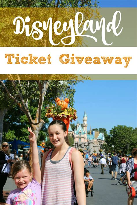Disney Ticket Giveaway - disneyland california ticket giveaway it s a lovely life