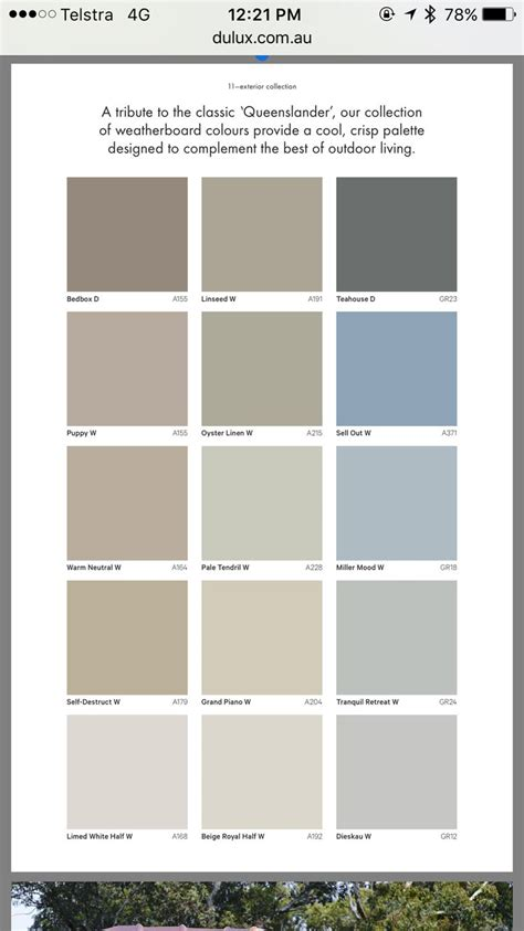 exterior paint colours dulux home painting